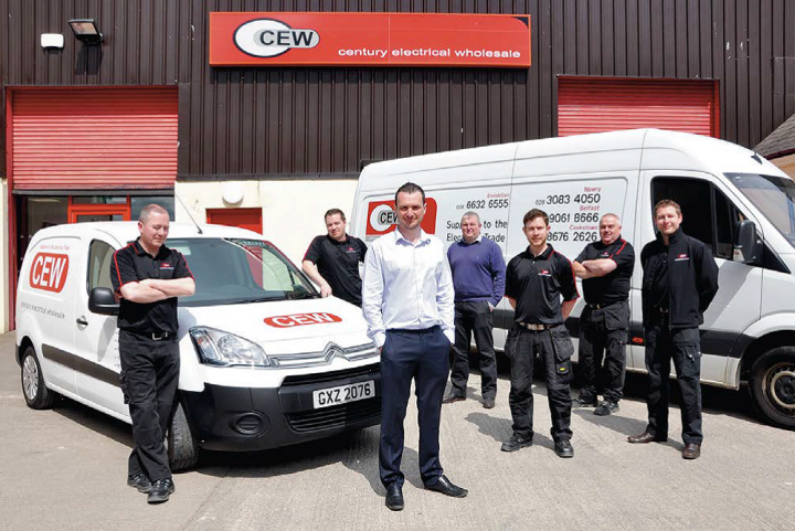 August 2016 Century Electrical Wholesale marks 10 years in Newry