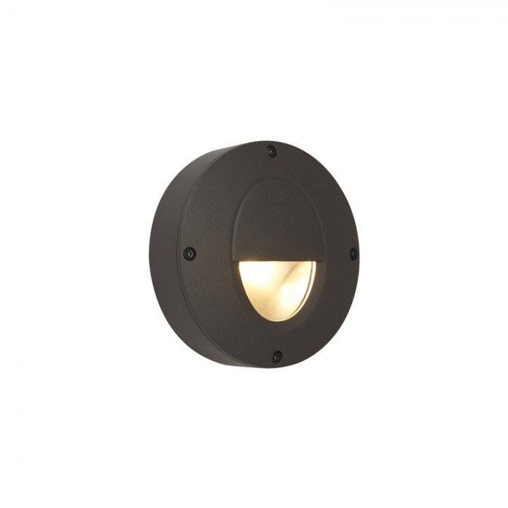 Outdoor lighting wall lights ansell callisto ac led low level warm white 4w led graphite cheapraybanclubmaster Images