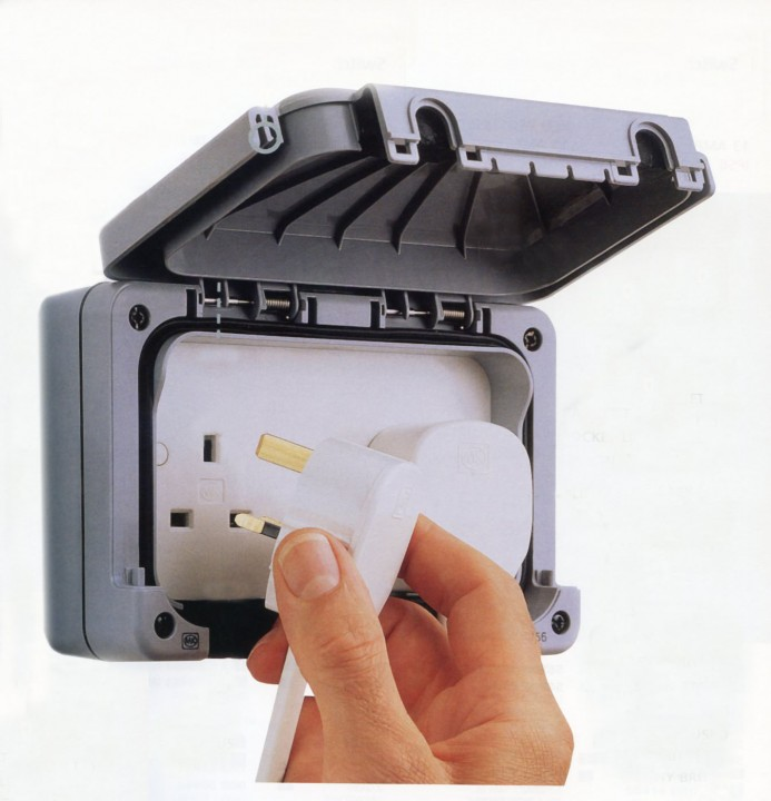 Outdoor Weatherproof Switches And Sockets